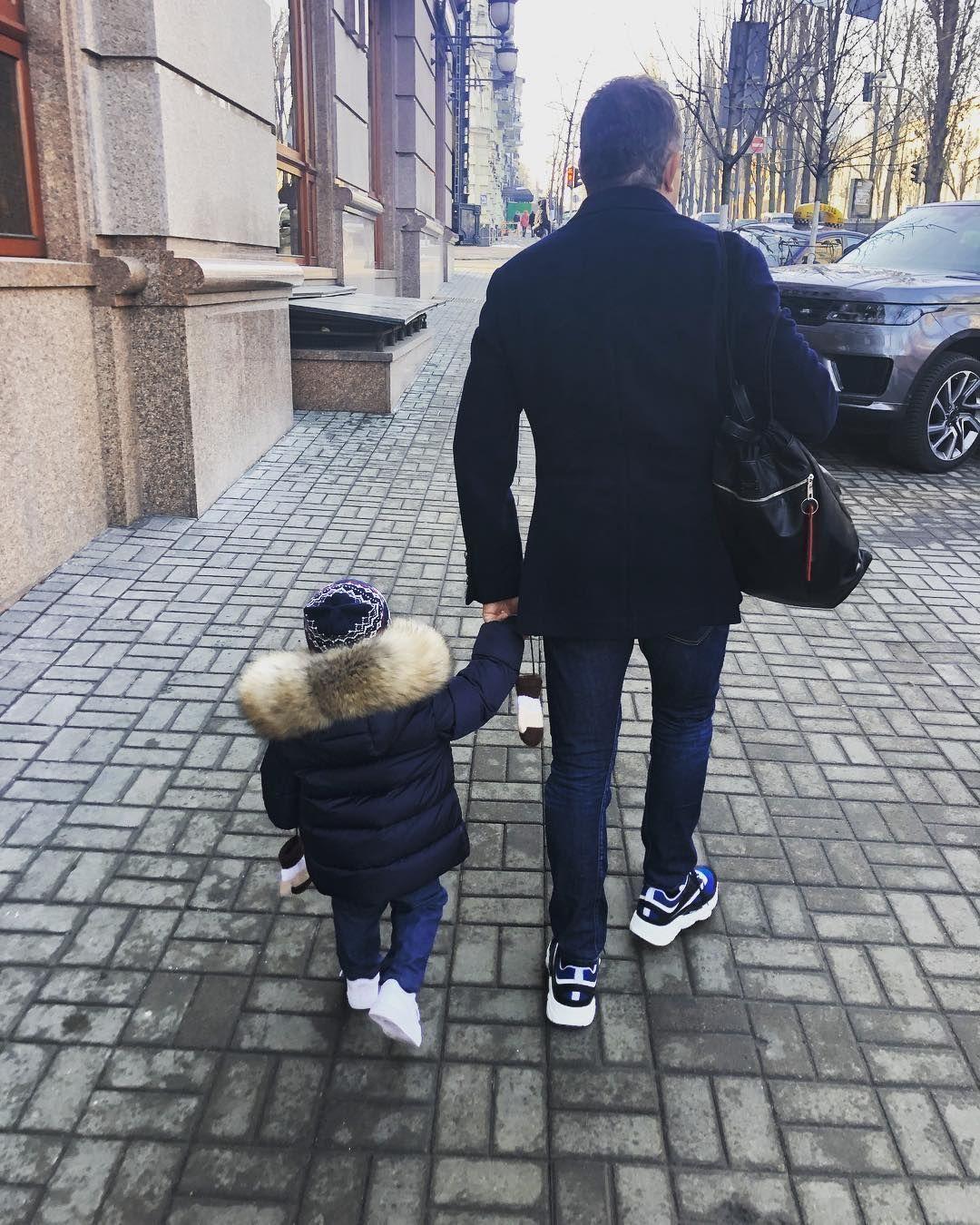 Юрій Горбунов з сином