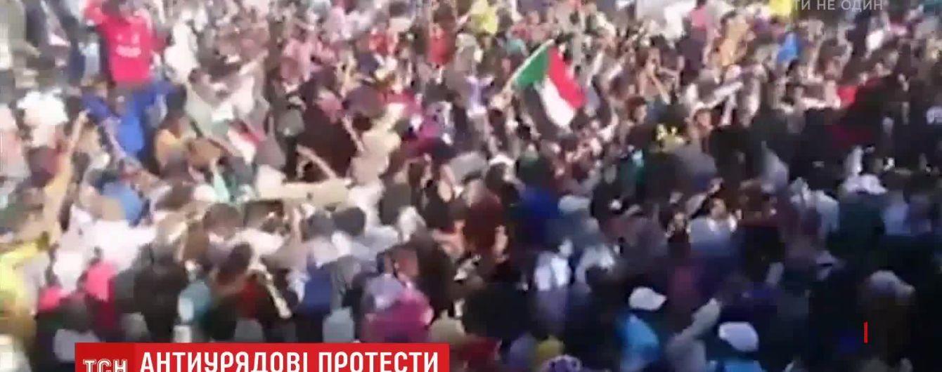 У Судані під час антипрезидентських протестів загинули щонайменше п'ятеро людей
