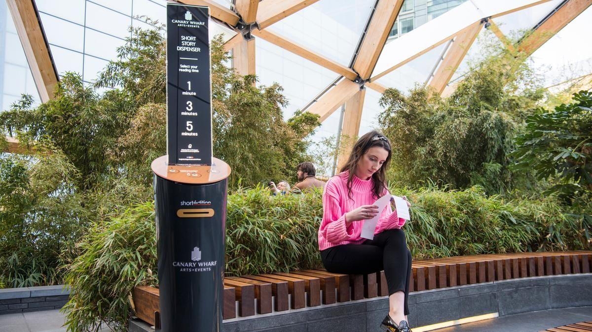 автомат с рассказами лондон