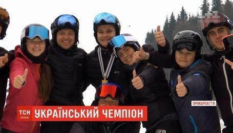 У Буковелі 19-річний Михайло Харук готується до виборювання олімпійської ліцензії