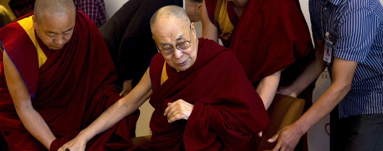 Далай-ламу госпитализировали в Индии