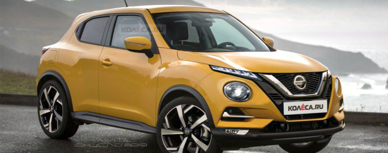 В Мережі показали, як виглядатиме Nissan Juke нового покоління