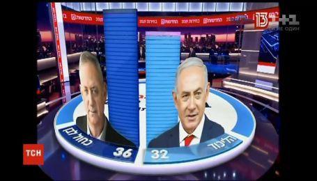 На досрочных выборах в Израиле лидируют одновременно две партии