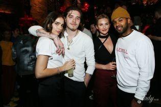 Какие милые: Бруклин Бекхэм и Хана Кросс повеселились на вечеринке в Лос-Анджелесе