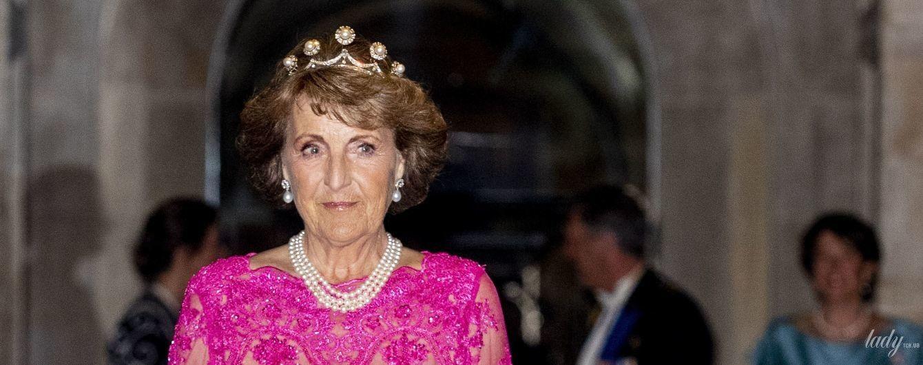 Найяскравіша гостя: принцеса Маргарита в рожевій сукні відвідала прийом в королівському палаці в Амстердамі