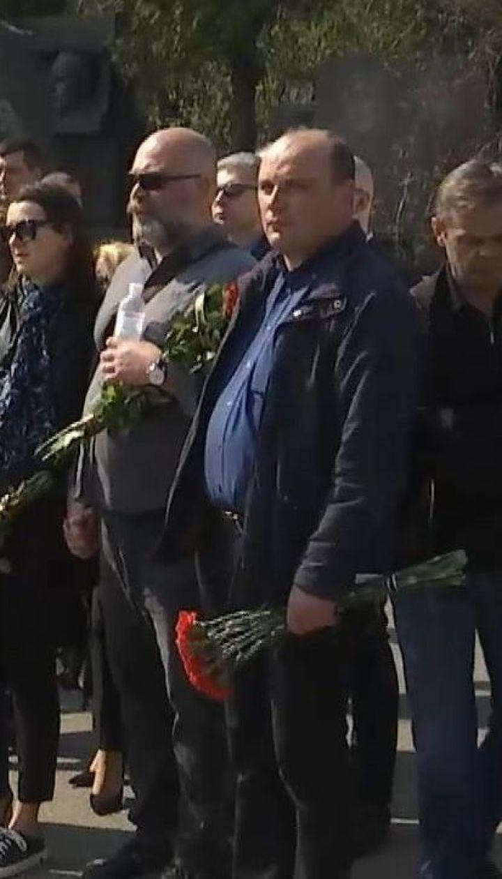 У столиці попрощалися з відомим волонтером Володимиром Слабовським