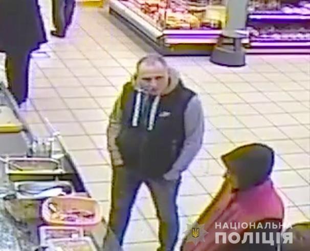 підозрюваний у вбивстві в маркеті