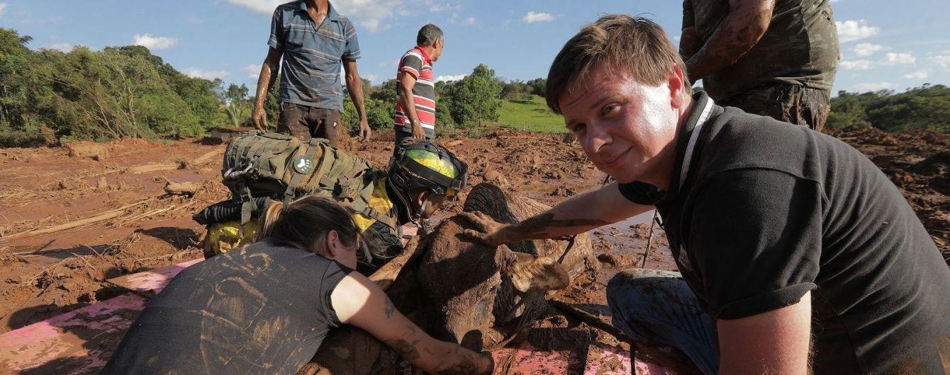Дмитрий Комаров покажет уникальные кадры первых дней после прорыва дамбы в Бразилии