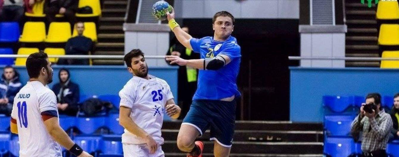 Украинские гандболисты убедительно обыграли Фареры в отборе на Евро-2020