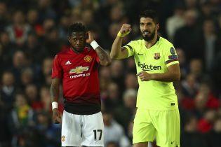 """Ліга чемпіонів. """"Барселона"""" завдяки автоголу здолала """"Манчестер Юнайтед"""" на """"Олд Траффорд"""""""