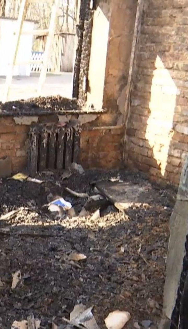 На Житомирщині вщент згоріла школа