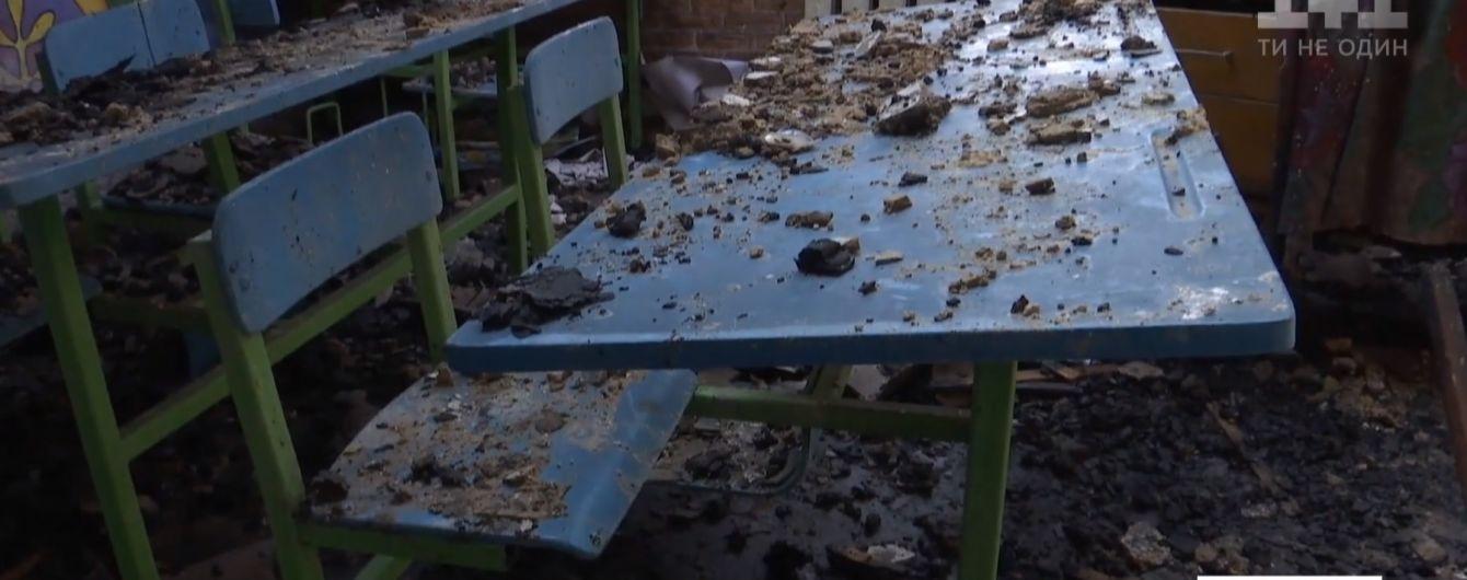 В селе Житомирской области дотла сгорела школа: сельчане говорят о поджоге