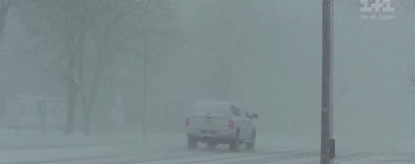 США накрила снігова буря: за кілька годин температура від +20 перетворилась на мінусову
