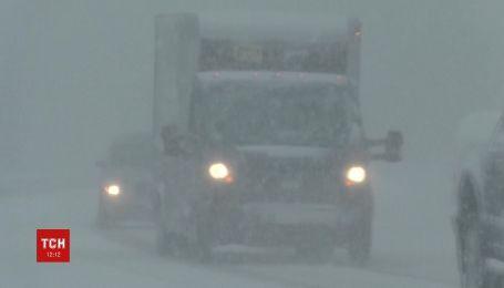 Квітневі снігопади йдуть в Америці