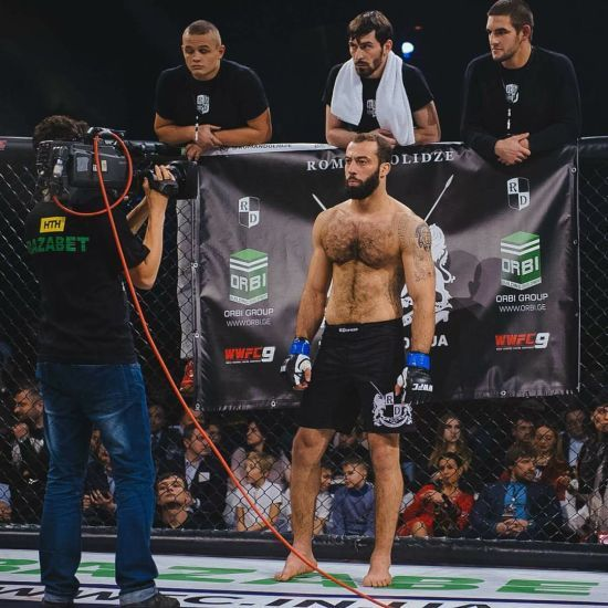 Українець Долідзе дебютує в UFC на турнірі у США
