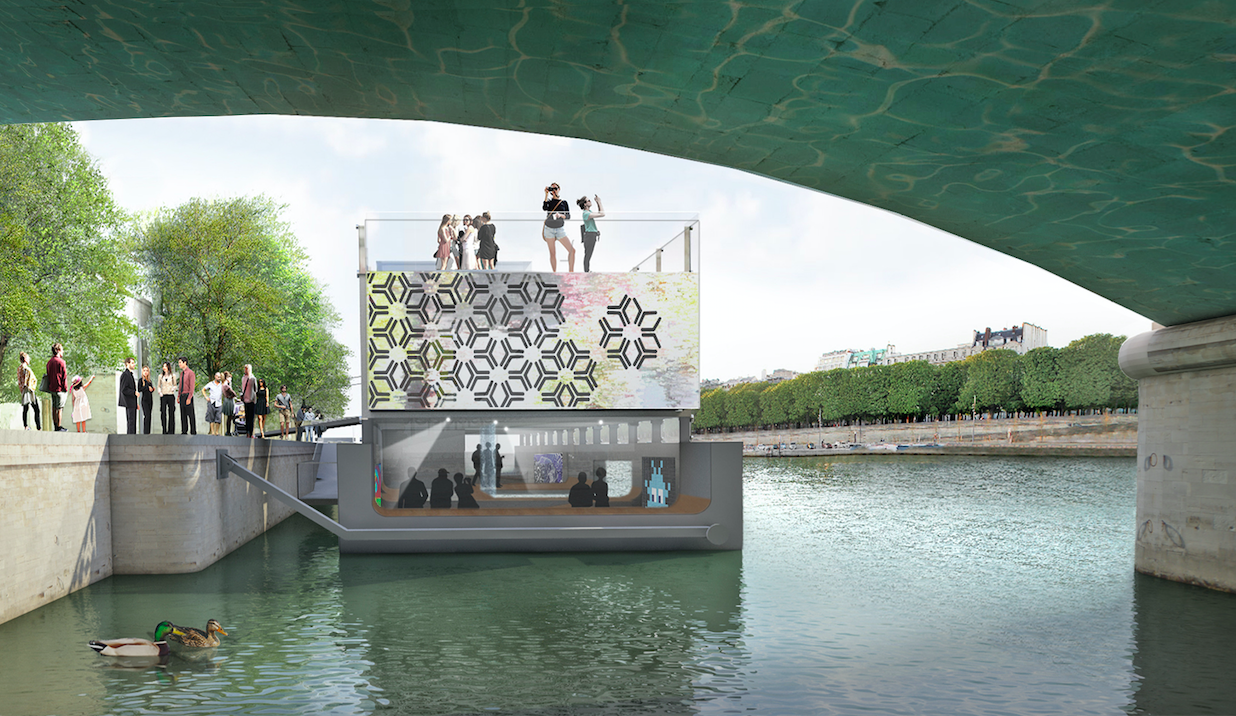 плавучий музей париж