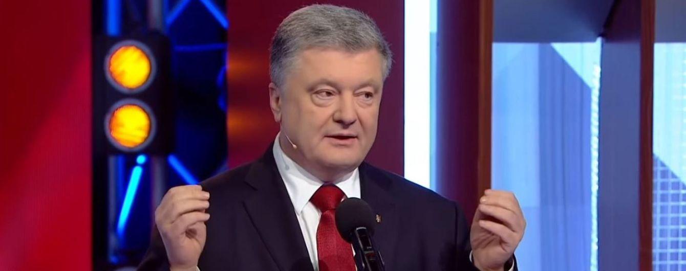 """Первые дебаты с Зеленским и личные ответы на обвинения: все о неожиданном появлении Порошенко на """"Право на владу"""""""