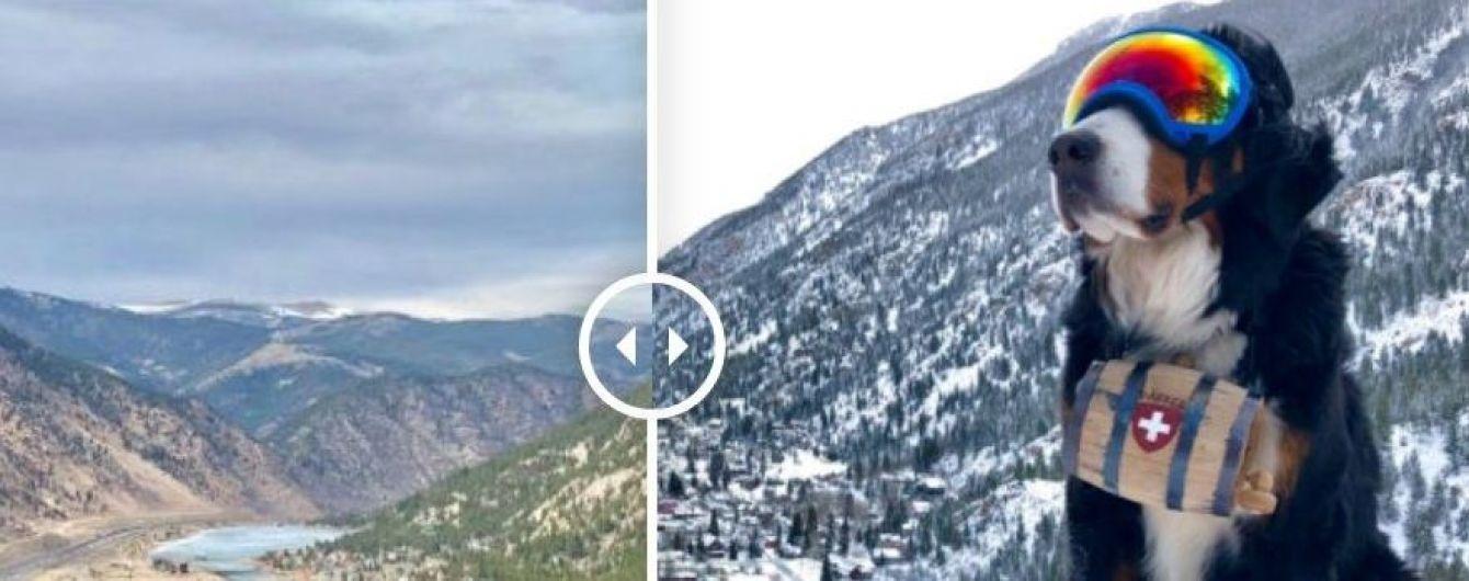 """В американском Колорадо зима за один день сменила лето: прихоти бури-""""чудовища"""" в фото до и после"""