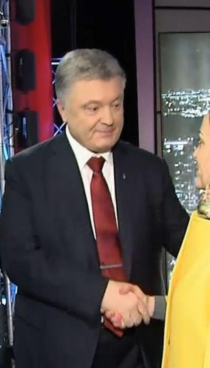 """Порошенко пояснив, чому приїхав на ефір """"Право на владу"""" без запрошення"""