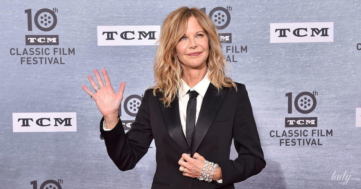 У чорному костюмі і з перловим браслетом: 57-річна Мег Райан у стильному образі на кінофестивалі