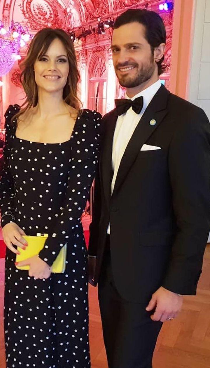 Принцеса Софія і принц Карл Філіп