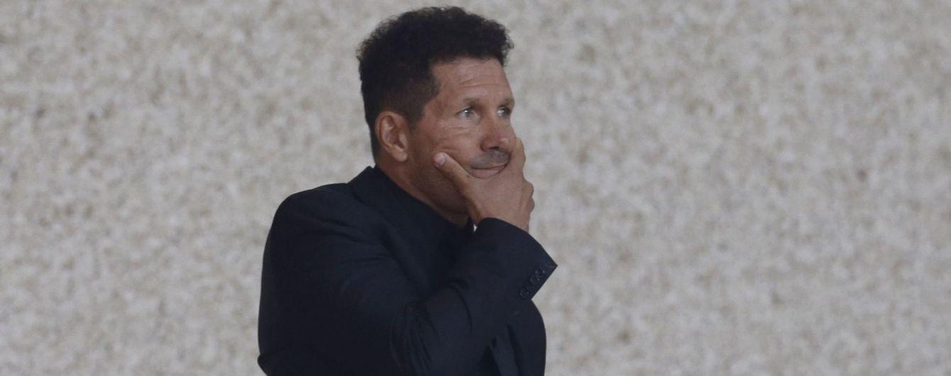 """Тренер """"Атлетико"""" возмущен сроком дисквалификации Диего Косты"""