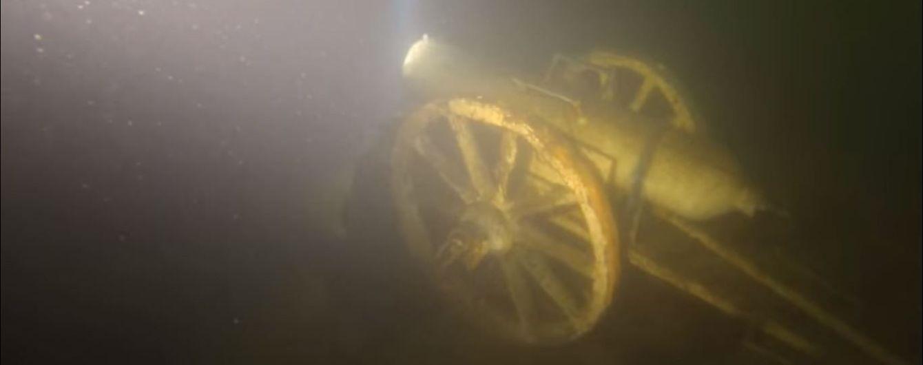 На Житомирщине ради добычи щебня хотят выкачать озеро с уникальным подводным музеем