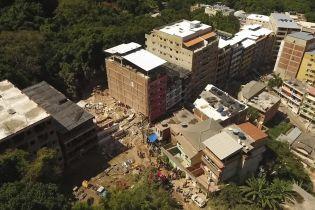 В Рио-де-Жанейро обвал многоэтажек похоронил под собой людей