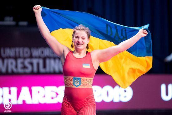"""Українка Бережна завоювала """"срібло"""" на Чемпіонаті світу з вільної боротьби"""