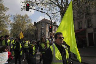 """Во время акции """"желтых жилетов"""" в Страсбурге пострадал человек"""