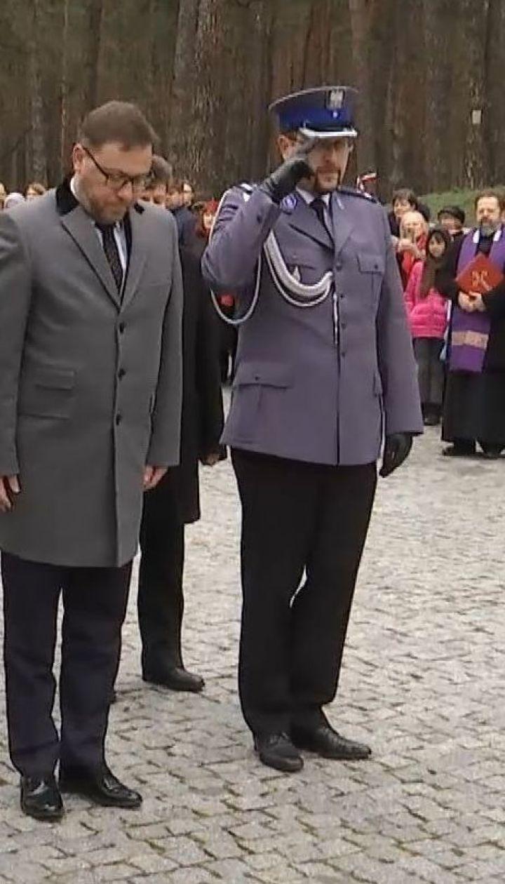 В Киеве состоялось торжественное чествование жертв Катынского расстрела