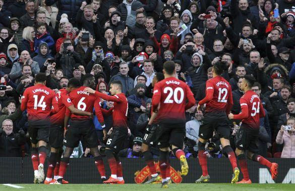 Радість футболістів Манчестер Юнайтед