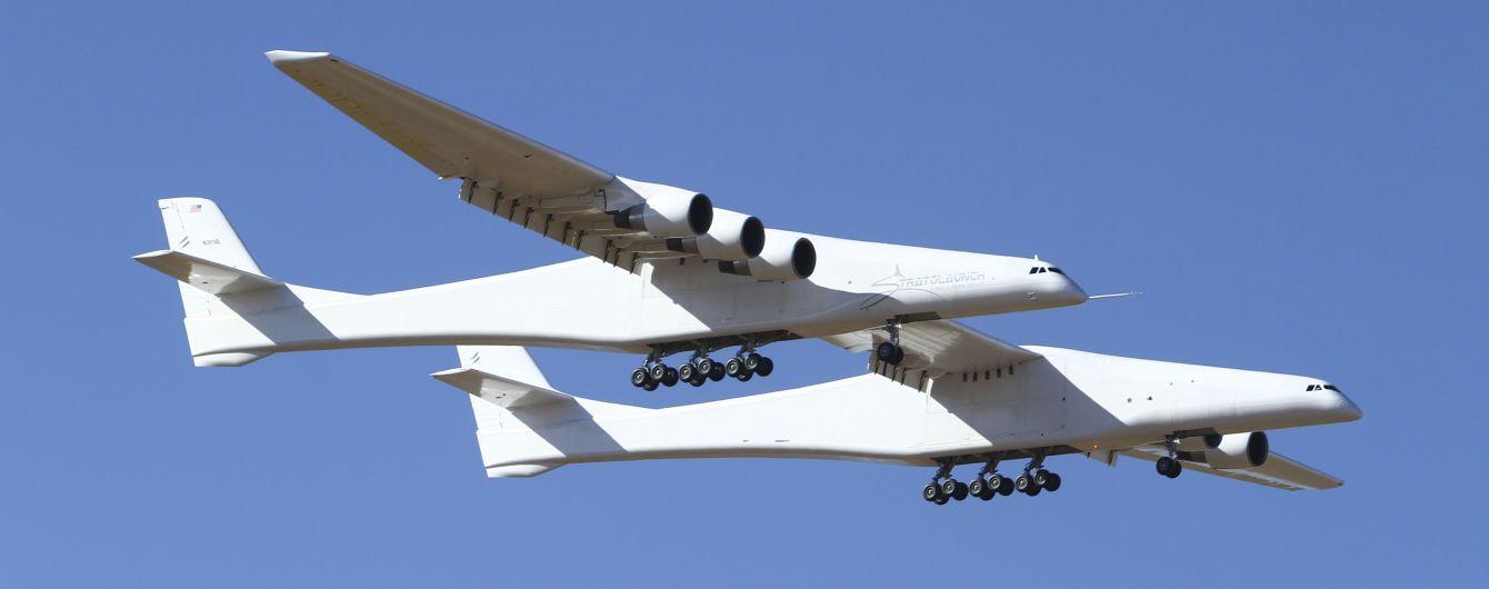 В США впервые в небо поднялся самый большой в мире самолет Stratolaunch