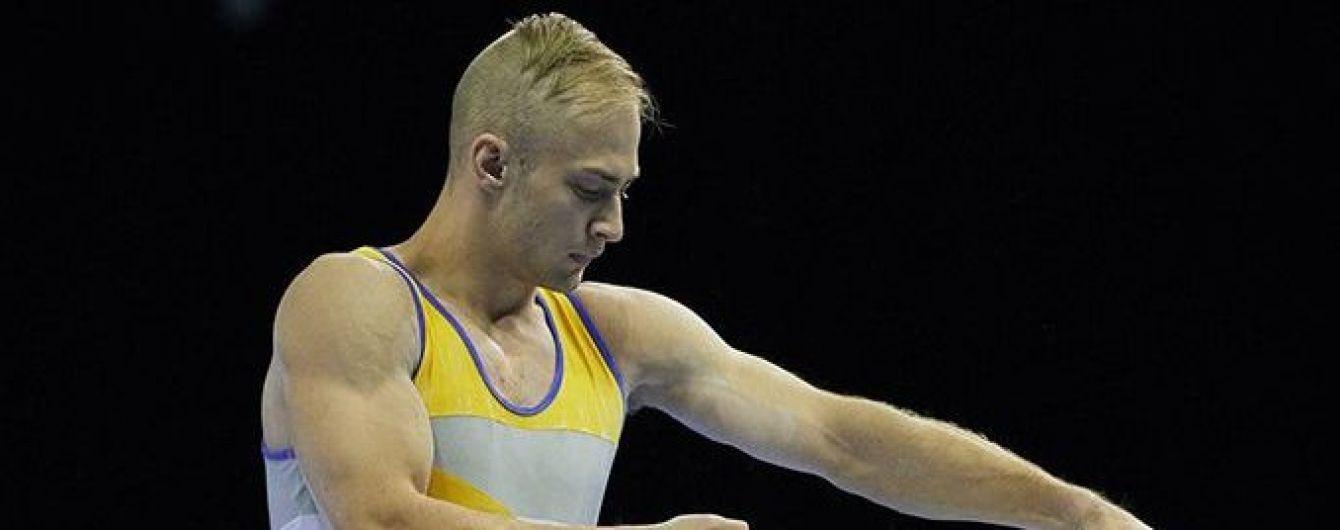 Украинский гимнаст Пахнюк стал серебряным призером Чемпионата Европы