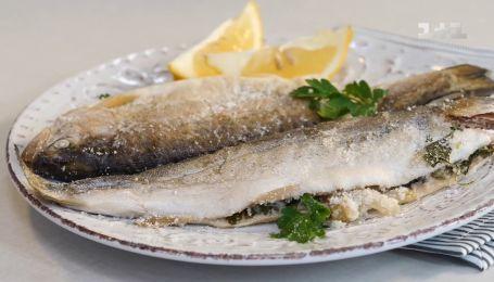 Риба в панцирі із солі - Правила сніданку. Діти