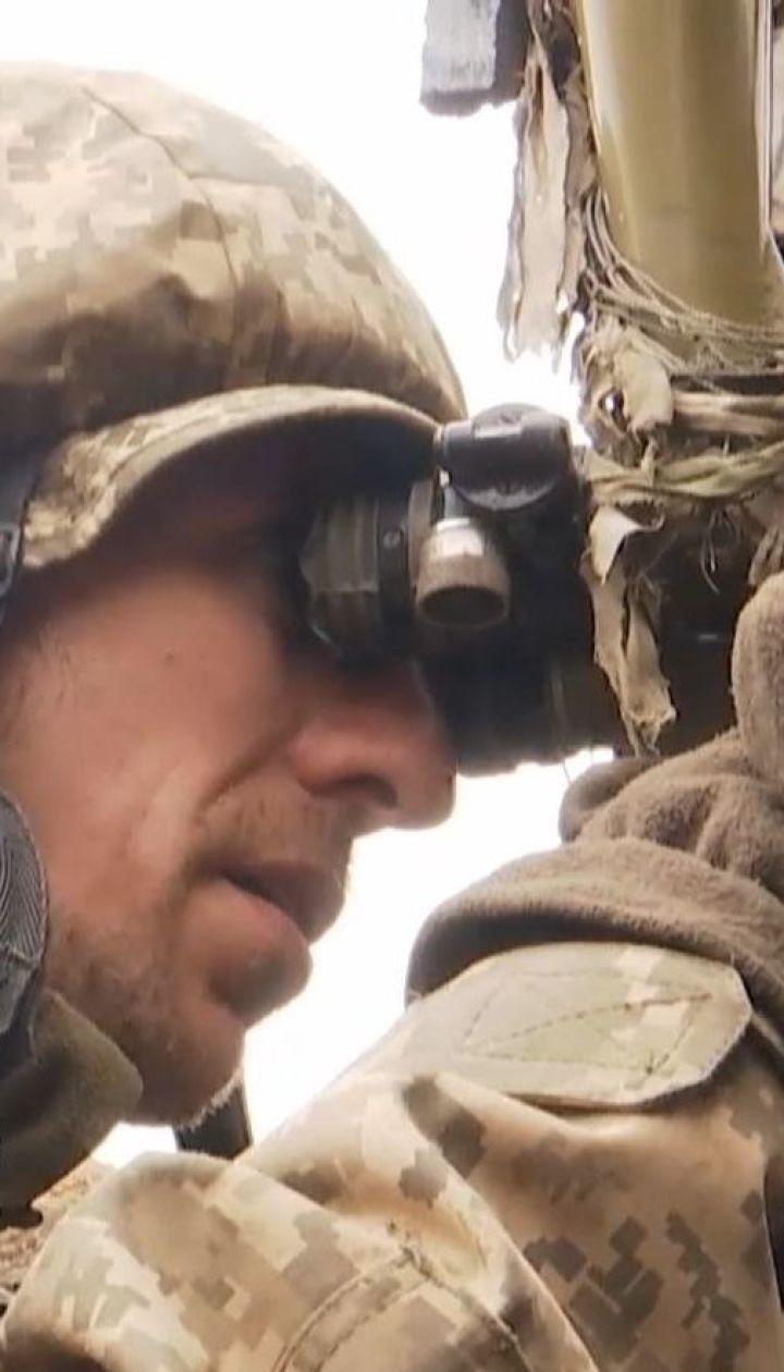 """Военнослужащие батальона """"Донбасс-Украина"""" уничтожили пулеметный расчет противника"""