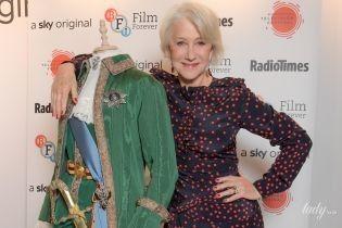 """Як завжди, стильна: Гелен Міррен прийшла на захід у грайливій """"гороховій"""" сукні"""