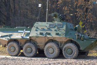 В Украине презентовали новый БТР с автоматизированной системой управления боем и дронами