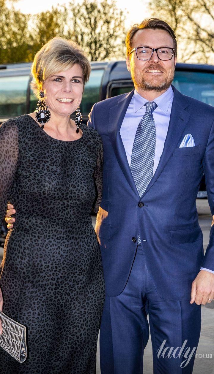 Принц Костянтин і принцеса Лаурентин