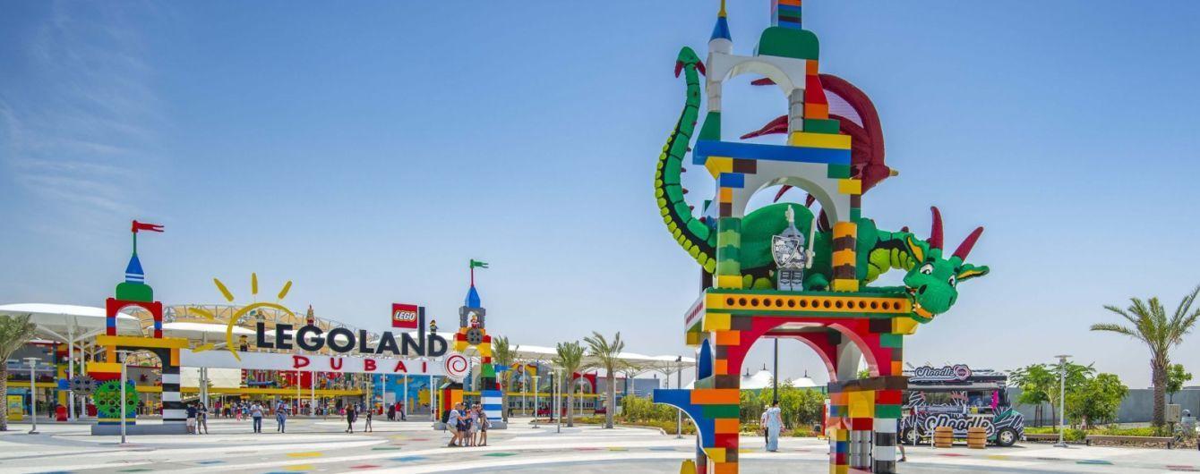 У Дубаї з'явиться перший готель Legoland
