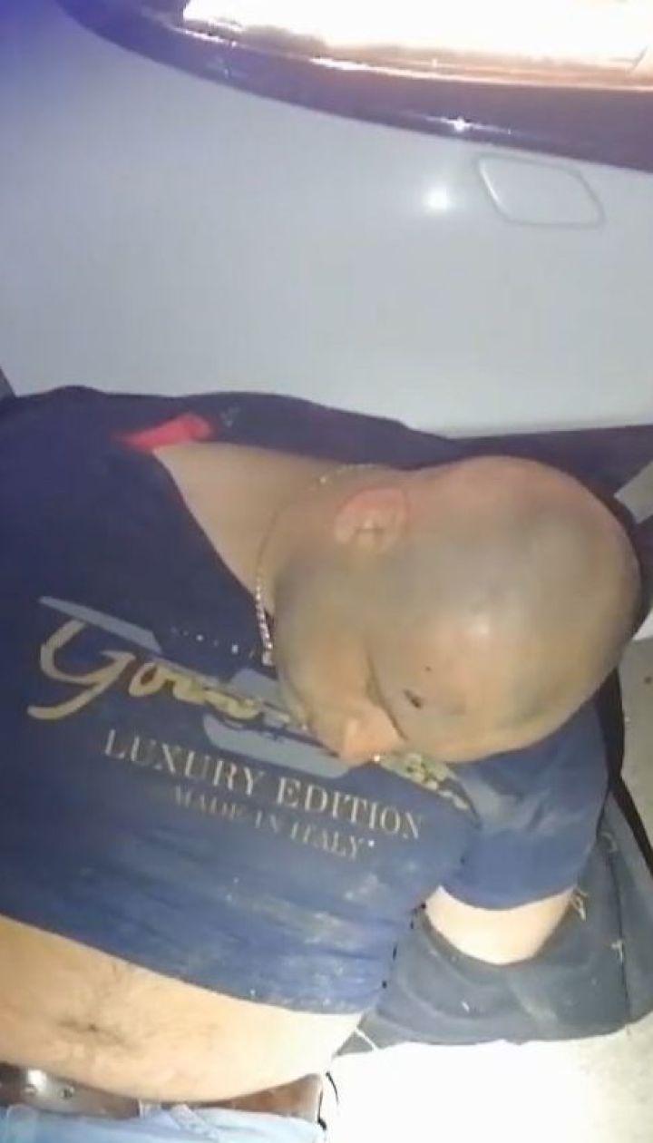"""Пьяный водитель """"евробляхи"""" устроил гонки с патрульными и протаранил два авто"""