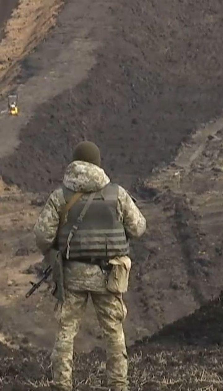 Уздовж українсько-російського кордону будують оборонну споруду