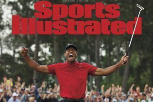 Американський журнал креативно присвятив обкладинку довгоочікуваній перемозі Тайгера Вудса