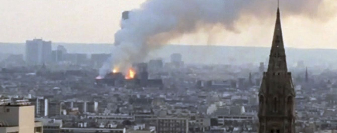 Архітектор про пожежу у Нотр-Дамі: На майданчику не було жодного працівника