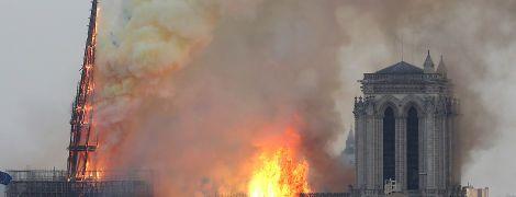 Уперше руйнівні наслідки пожежі в Нотр-Дамі показали з супутника. Фото до та після