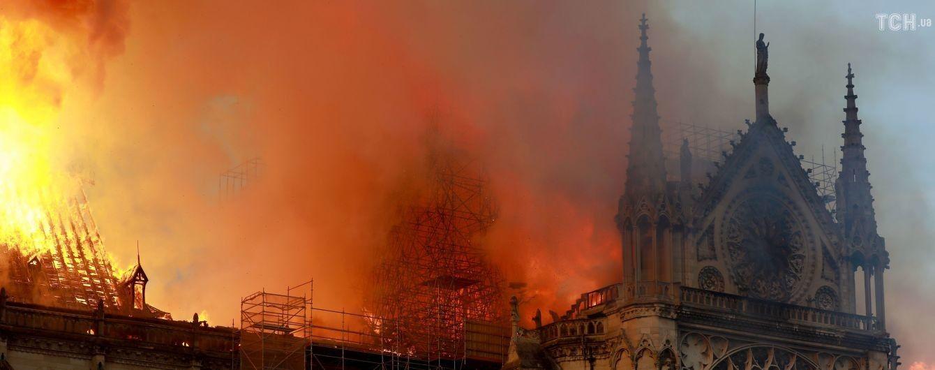Пожар в Нотр-Даме: пожертвования на восстановление собора превысили миллиард евро