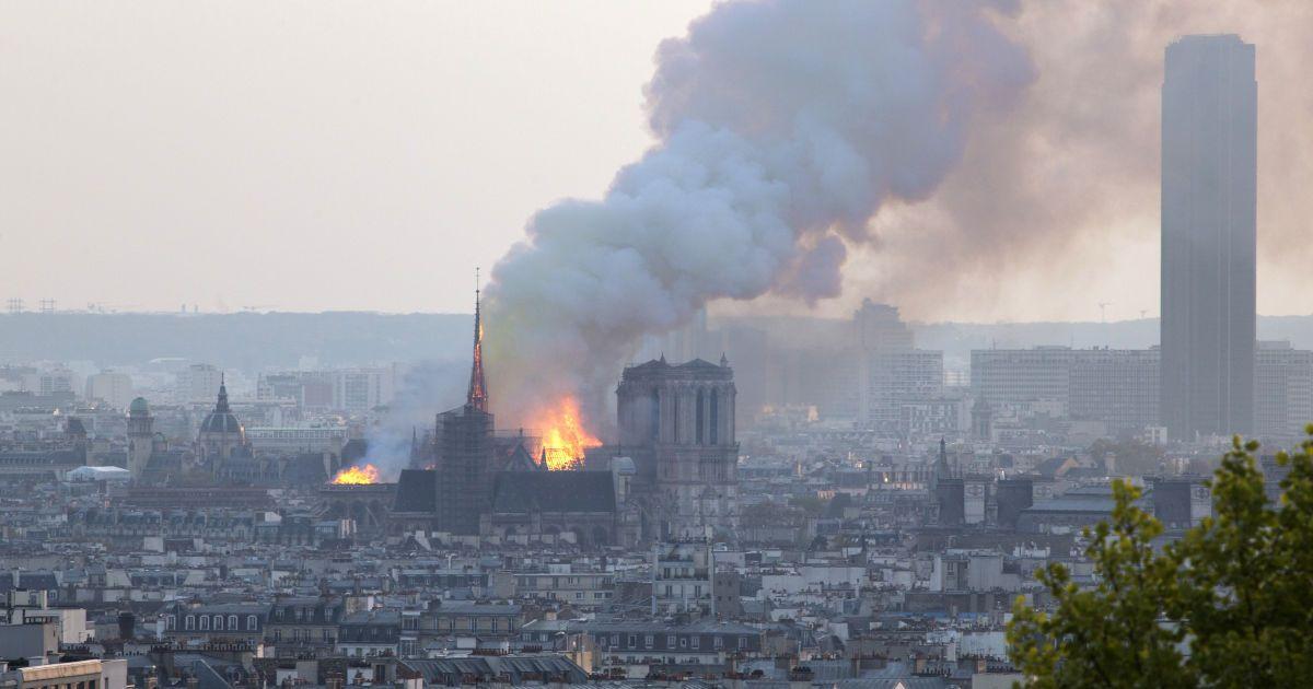 Восстановление собора Парижской Богоматери займет не менее 10 лет