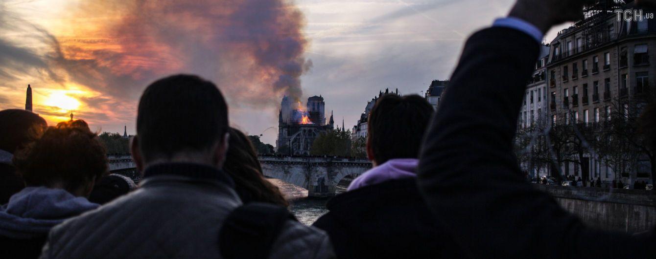Украина готова отправить своих специалистов для восстановления собора Парижской Богоматери