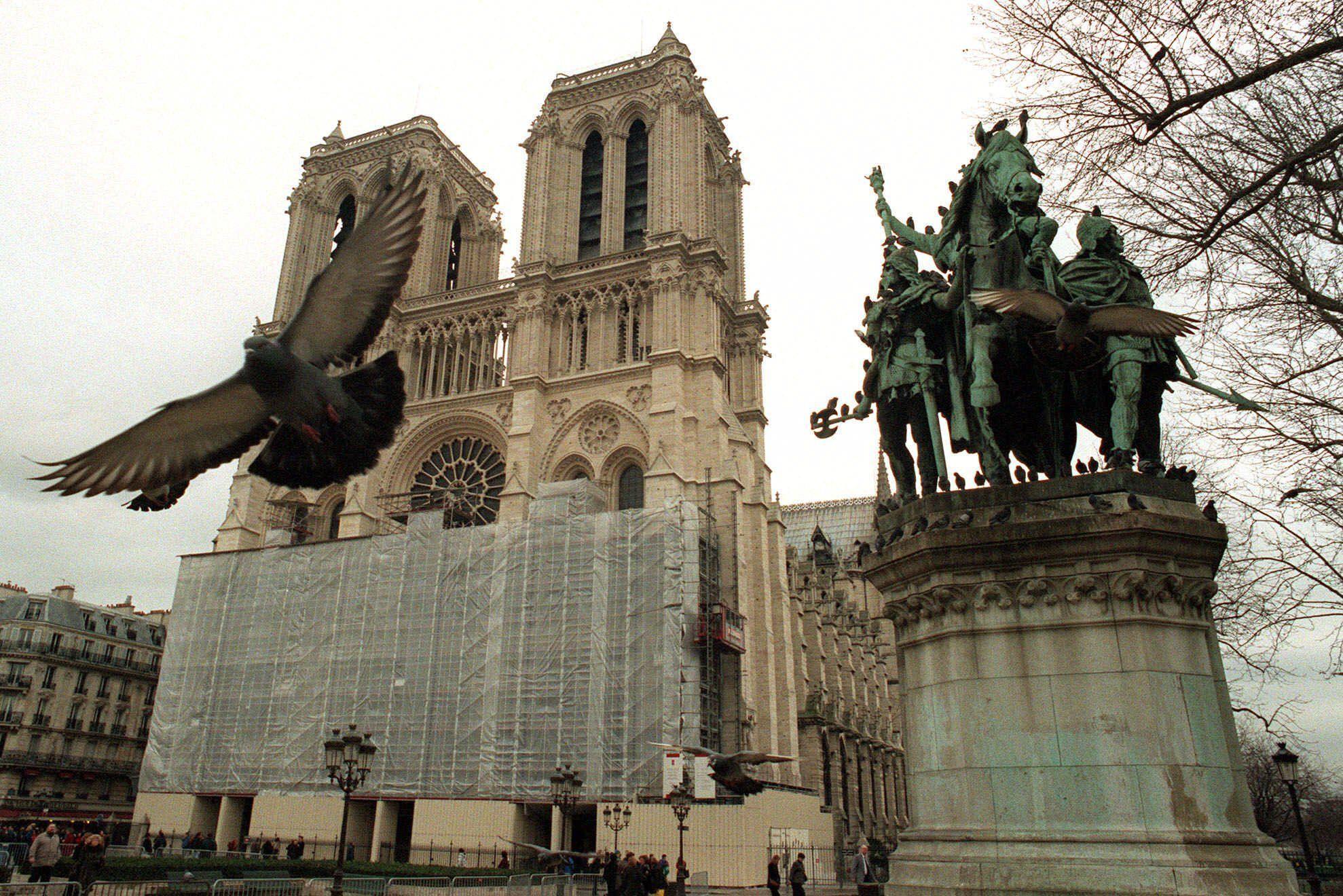 Архівні фото собору паризької богоматері_21