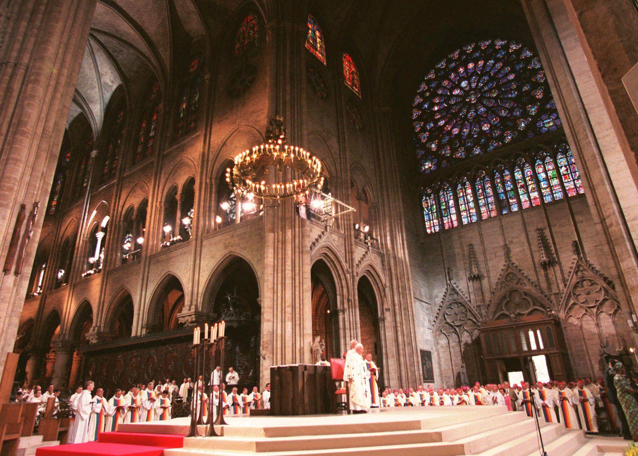 Архівні фото собору паризької богоматері_20